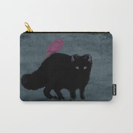 Cat and bird friends! Carry-All Pouch