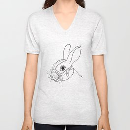 BDSM Rabbit Unisex V-Neck