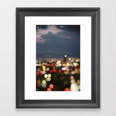 Mexico City Framed Art Print