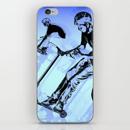 It's All About The Scooter! - Scooter Tricks iPhone Skin