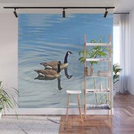 Enjoying a Swim Wall Mural