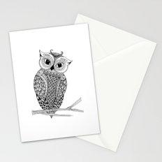 Lady Owl Stationery Cards