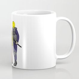 happy face police positive thinking Mantra Gift Coffee Mug
