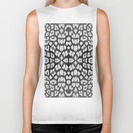 Leopard Print - Grey Biker Tank