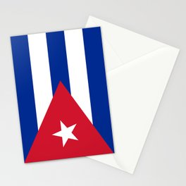 National flag of Cuba - Authentic HQ version Stationery Cards