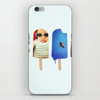 popsicle iPhone & iPod Skins featuring Popsicle by Jemma Pope