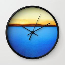 Journeys End Wall Clock