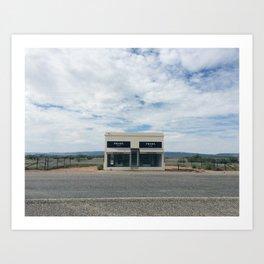 Marfa, TX Art Print