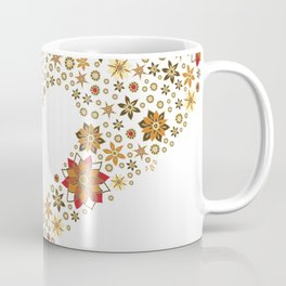 Floral heart with star anise Coffee Mug