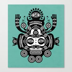 Râ Tatoo Canvas Print