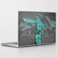 alaska Laptop & iPad Skins featuring Alaska by Last Call