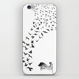 Sheba the Bird Worrier iPhone Skin