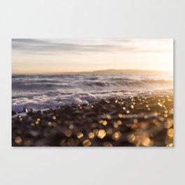Sunrise Owen Beach, Puget Sound, Washington Canvas Print