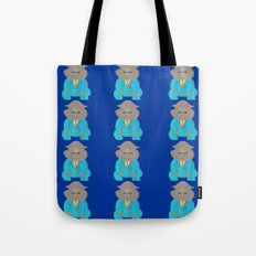 Napping Mr.Hippo Tote Bag