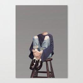 Headless Canvas Print