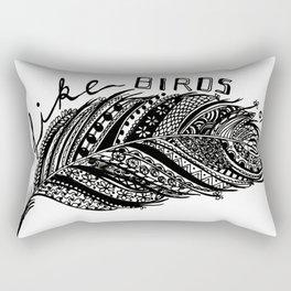 Birds of a feather Rectangular Pillow