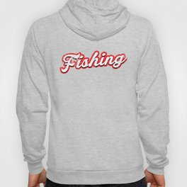 fishing - vintage & distressed Hoody