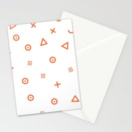 Happy Particles Stationery Cards