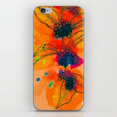 Beautyberry branch iPhone & iPod Skin