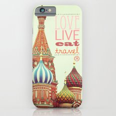 Love, Live, Eat, Travel iPhone 6s Slim Case
