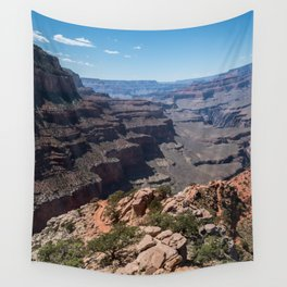 Grand Canyon View Wall Tapestry