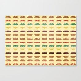 Build a Burger Canvas Print