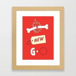Break New Ground Framed Art Print
