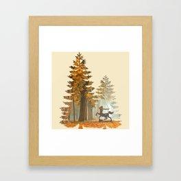 Mystic Hunt Framed Art Print