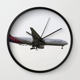 Asiana Airlines Boeing 777 Wall Clock