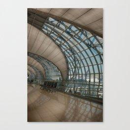 concave lines #2 Canvas Print