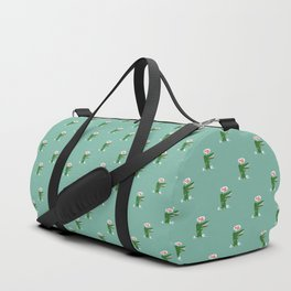 Hungry Hungry Alligator Duffle Bag