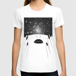 cover up drawing T-shirt
