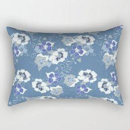 romantic floral Rectangular Pillow