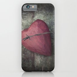 Trapped Heart III iPhone Case