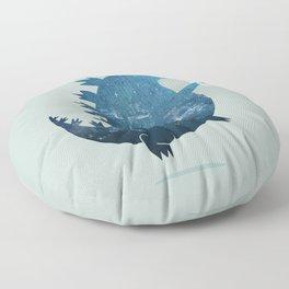 Godzillatte Floor Pillow