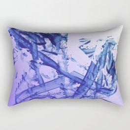 Indigo Impact Rectangular Pillow