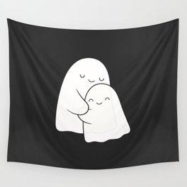 Ghost Hug - Soulmates Wall Tapestry