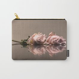 Blush Rose Carry-All Pouch