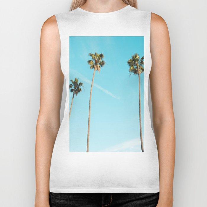 Palm Tree Sunshine Biker Tank