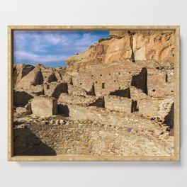 Pueblo Bonito in Chaco Canyon Serving Tray