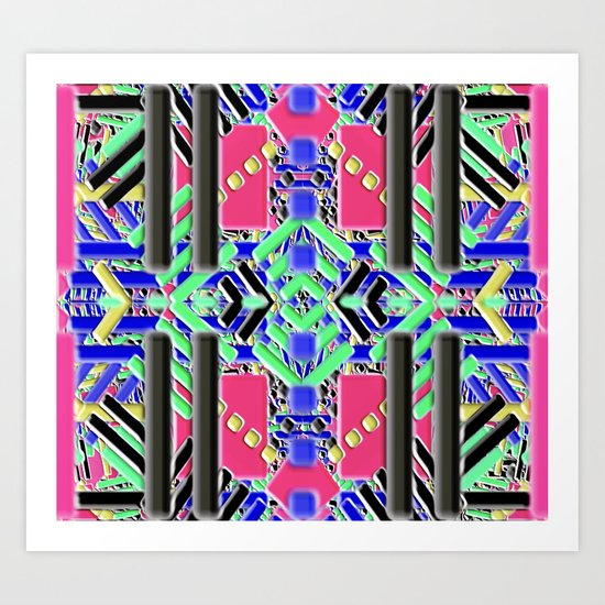 Southwestern Rug 2 Art Print