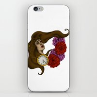 gypsy iPhone & iPod Skins featuring Gypsy by Rene Robinson