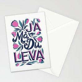 Ja Må Du Leva Stationery Cards
