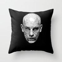 john snow Throw Pillows featuring John by Rik Reimert