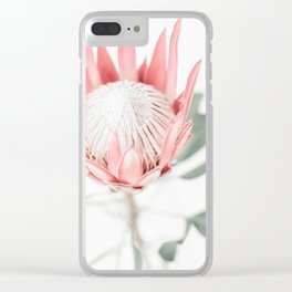 King Protea III Clear iPhone Case