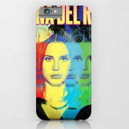 lana del ray rainbow 2021 iPhone Case