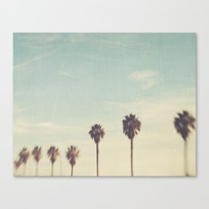 Palm Trees Los Angeles. Daydreamer No.2 Canvas Print
