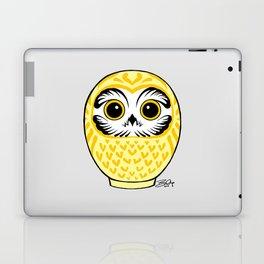 Yellow Fukuro Daruma Laptop & iPad Skin