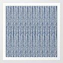 Knit Wave Navy by projectm