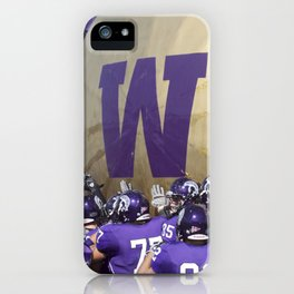 Winona State University Football iPhone Case